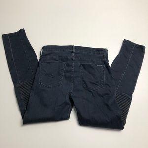 Hudson Stark Moto Jeans Womens 29 Denim
